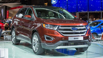Ford Edge (Euro-spec) live in Paris