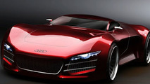 Rendered Speculation: Audi R10 Supercar