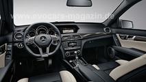2011 Mercedes C63 AMG leaked