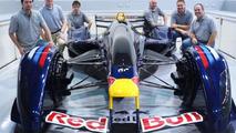 Red Bull X1 race car full scale model 26.11.2010