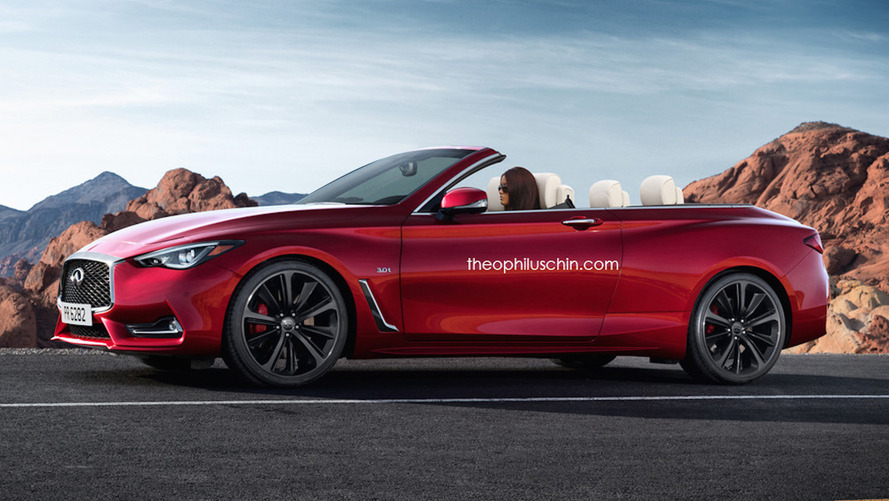 This is the Infiniti Q60 Convertible that will never happen