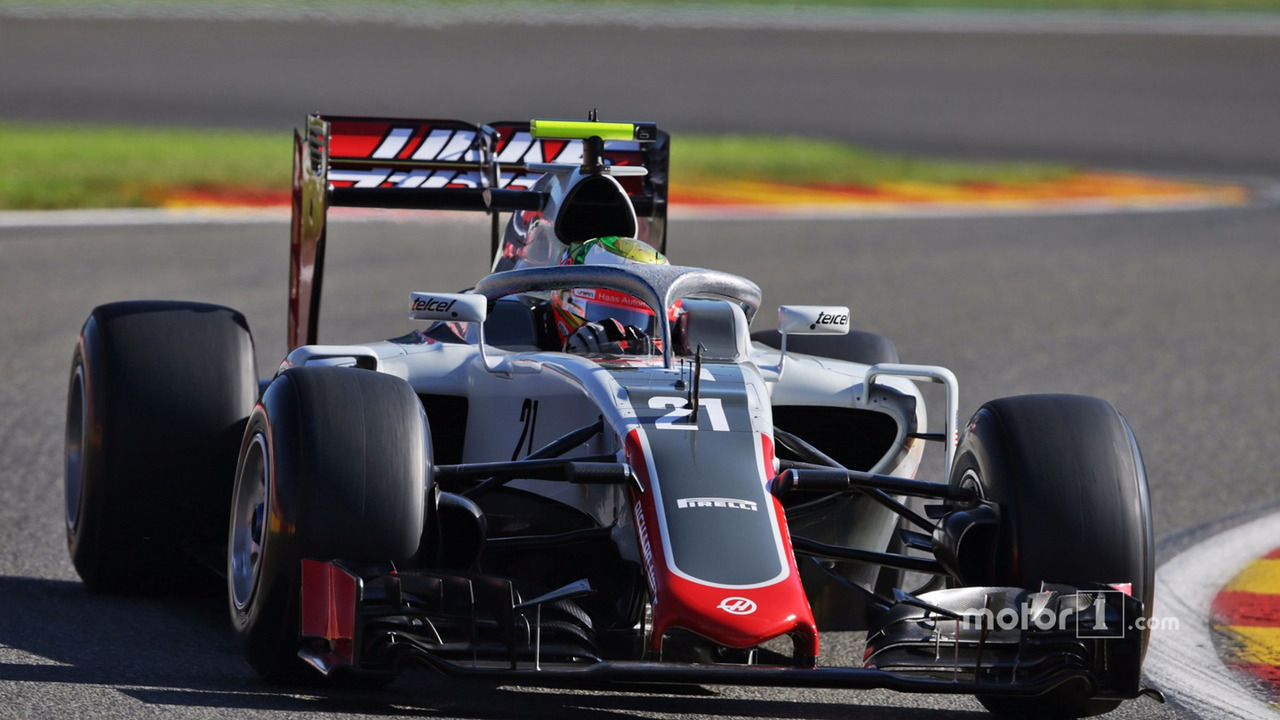Haas VF16-H, colored Halo