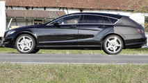 2013 Mercedes CLS Shooting Brake prototype spy photo
