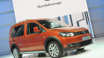 Volkswagen Cross Caddy at 2012 Paris Motor Show