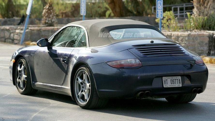 Spy Photos: Porsche 911 Facelift