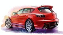 2006 Mazda 3 MPS sketch