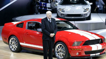 Ford Shelby Cobra GT500 unveiling at NYIAS