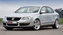 KW coilover suspensions for the new VW Passat