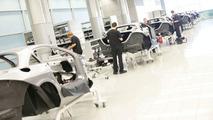 McLaren SLR production Woking England