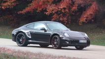 2012 Porsche 911 spied with less camo
