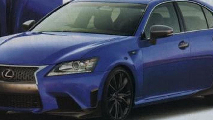 Lexus GS F spied virtually undisguised