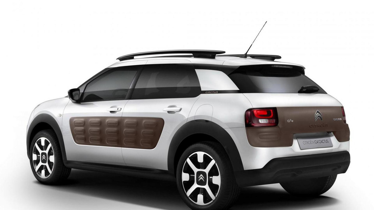 Citroen C4 Cactus leaked photo