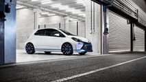 Toyota Yaris Hybrid-R concept fully revealed
