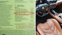 Ferrari wants 3,533 USD for carbon fiber cup holder in F12 Berlinetta