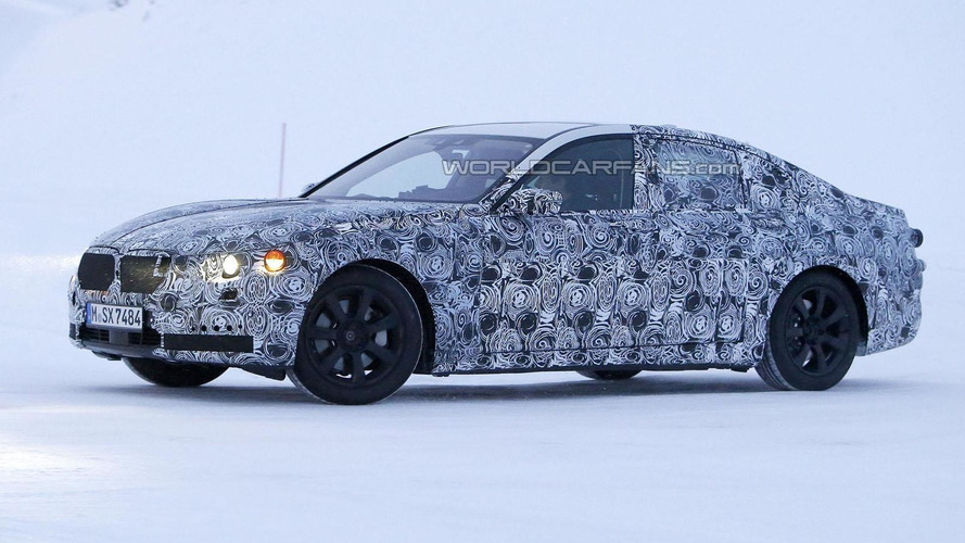 2015 BMW 7-Series caught testing in a winter wonderland