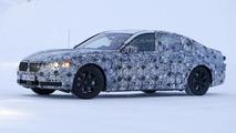 2015 BMW 7-Series caught testing in a winter wonderland