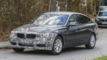 BMW 3-Series GT facelift spied hiding minor changes