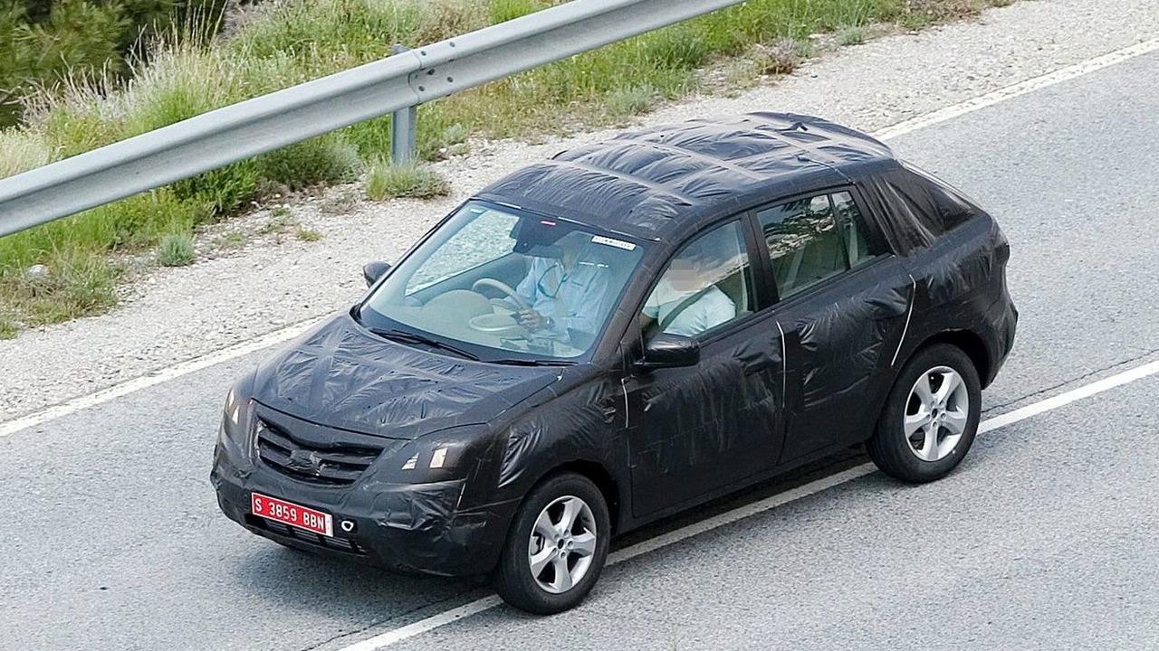 Renault Koleos Spied