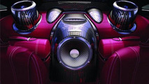 Pagani Huayra receives 1200W Sonus Faber audio system