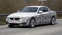 BMW 4-Series Convertible spy photo 18.04.2013