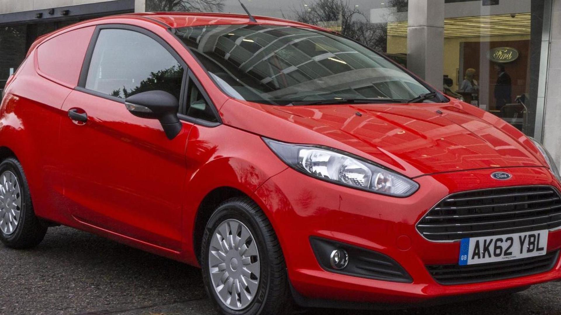 Ford Fiesta Van revealed [video]