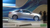 Bastidores do Salão do Automóvel: Hyundai mostra Sonata e surpreende com o Equus