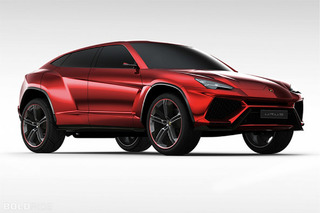 Most Popular: 2012 Lamborghini Urus SUV Concept