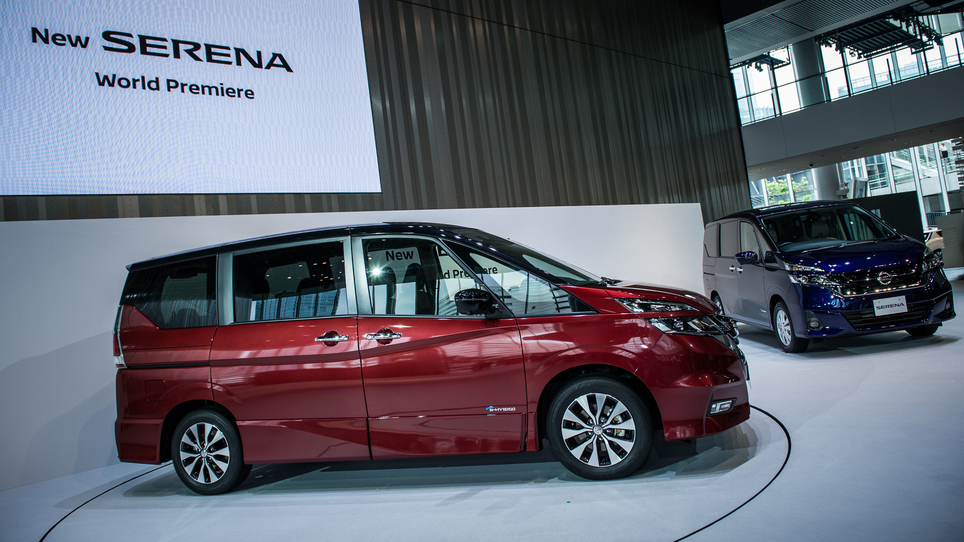 5th Generation Nissan Serena C27 Japanese Talk