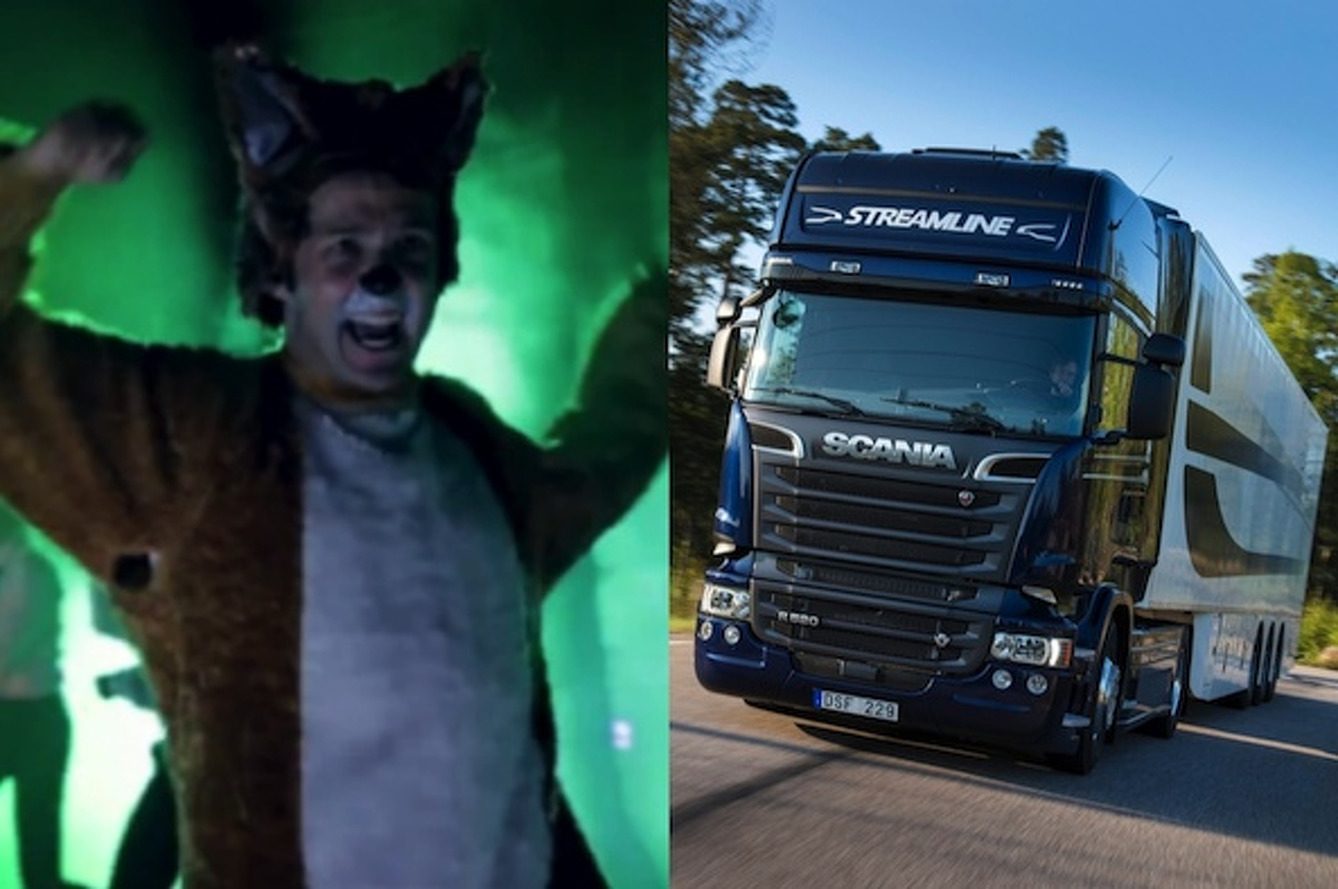 What Does the Fox Say: Semi Truck Edition [video]