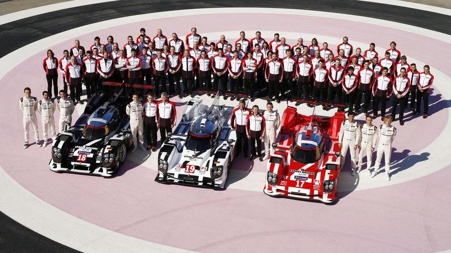 Porsche shows off their liveries for Le Mans