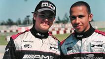 Retro: When Hamilton and Rosberg got along as teammates