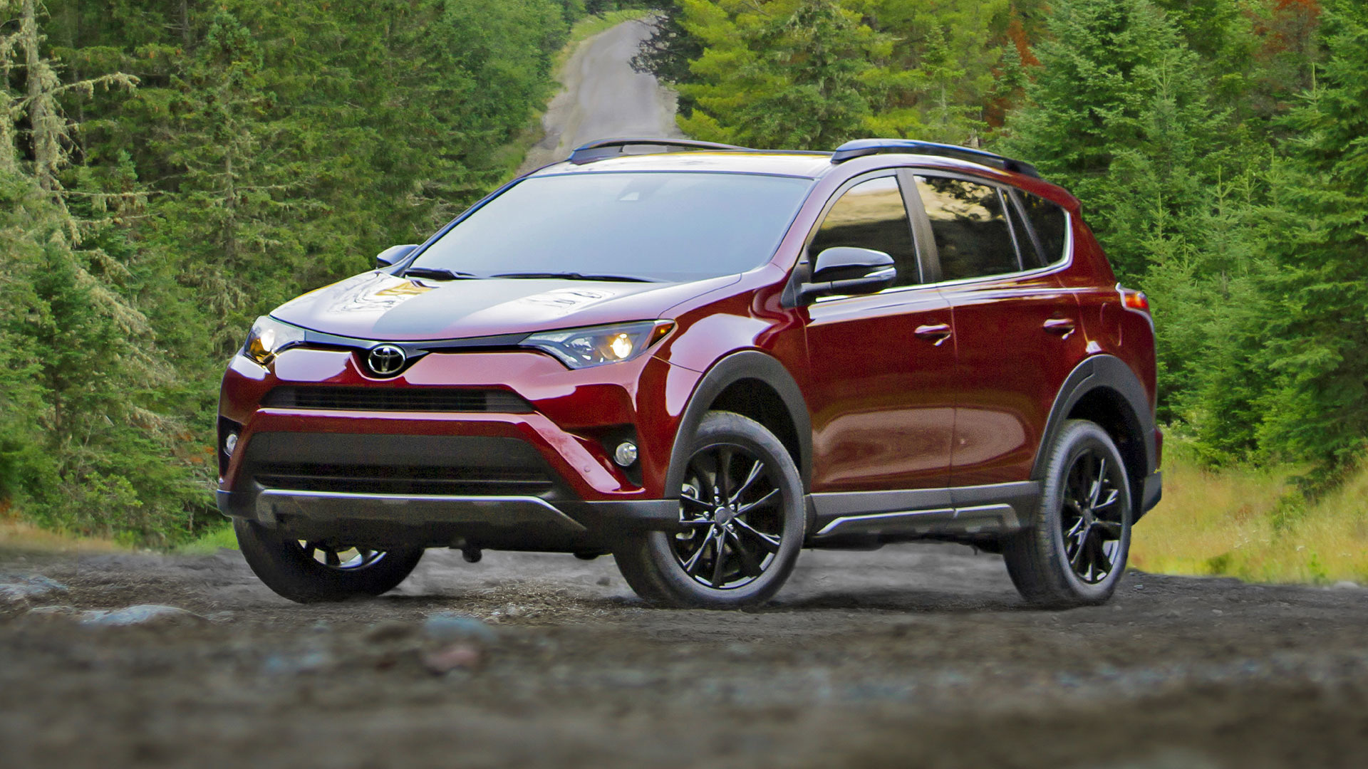 2018 toyota rav4 adventure is slightly tougher slightly lifted. Black Bedroom Furniture Sets. Home Design Ideas