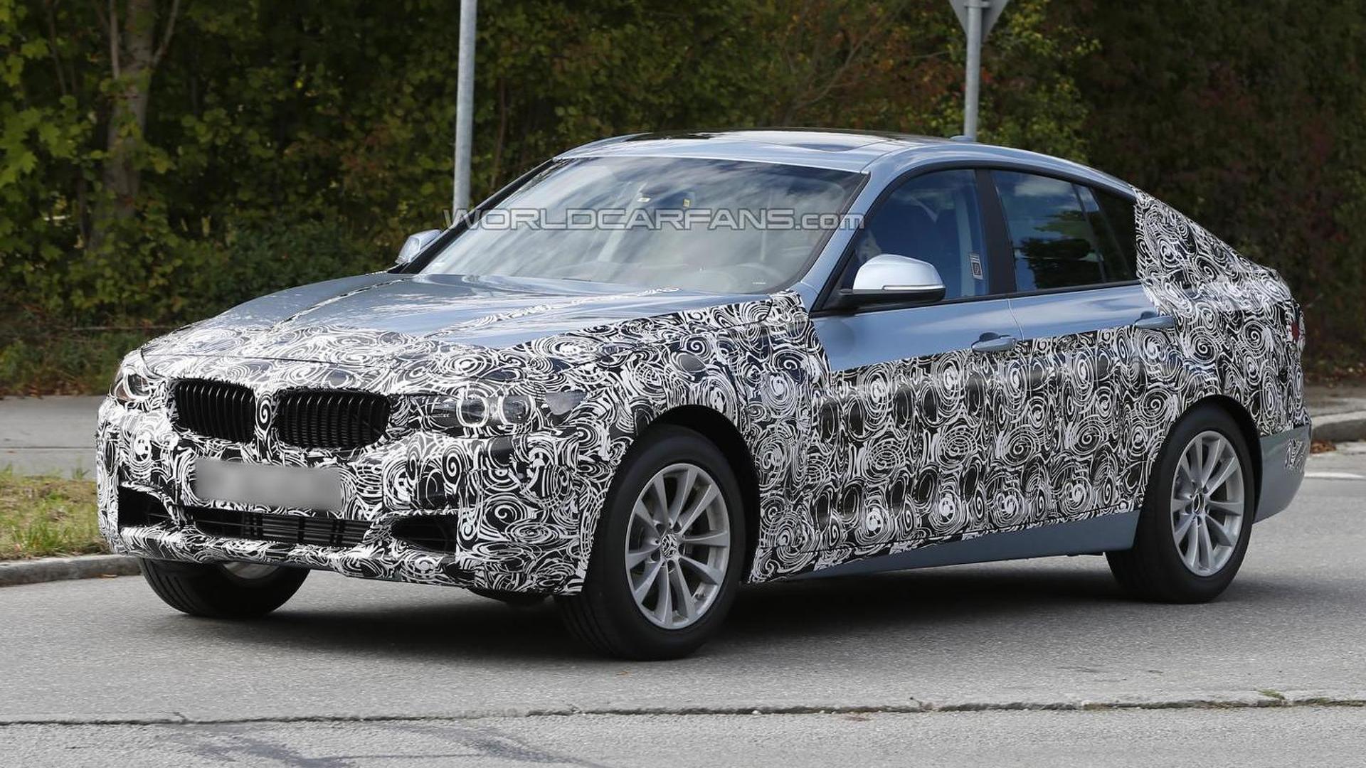 BMW 3-series GT spy video