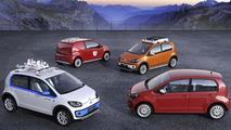 Volkswagen to present four Up! Concepts in Geneva