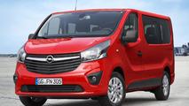 2014 Opel Vivaro Combi