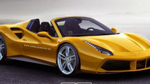 Ferrari 488 GTS reportedly confirmed for Frankfurt debut in September; 488 GTB Scuderia planned