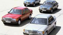 Compact Mercedes-Benz sedan models - W201 series
