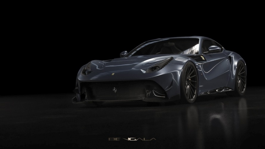 Bengala Ferrari F12 Caballeria is a carbon fibre fest