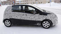 Proton Savvy replacement spied in northern Sweden