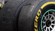 Worn Pirelli tires 25.10.2013 Indian Grand Prix