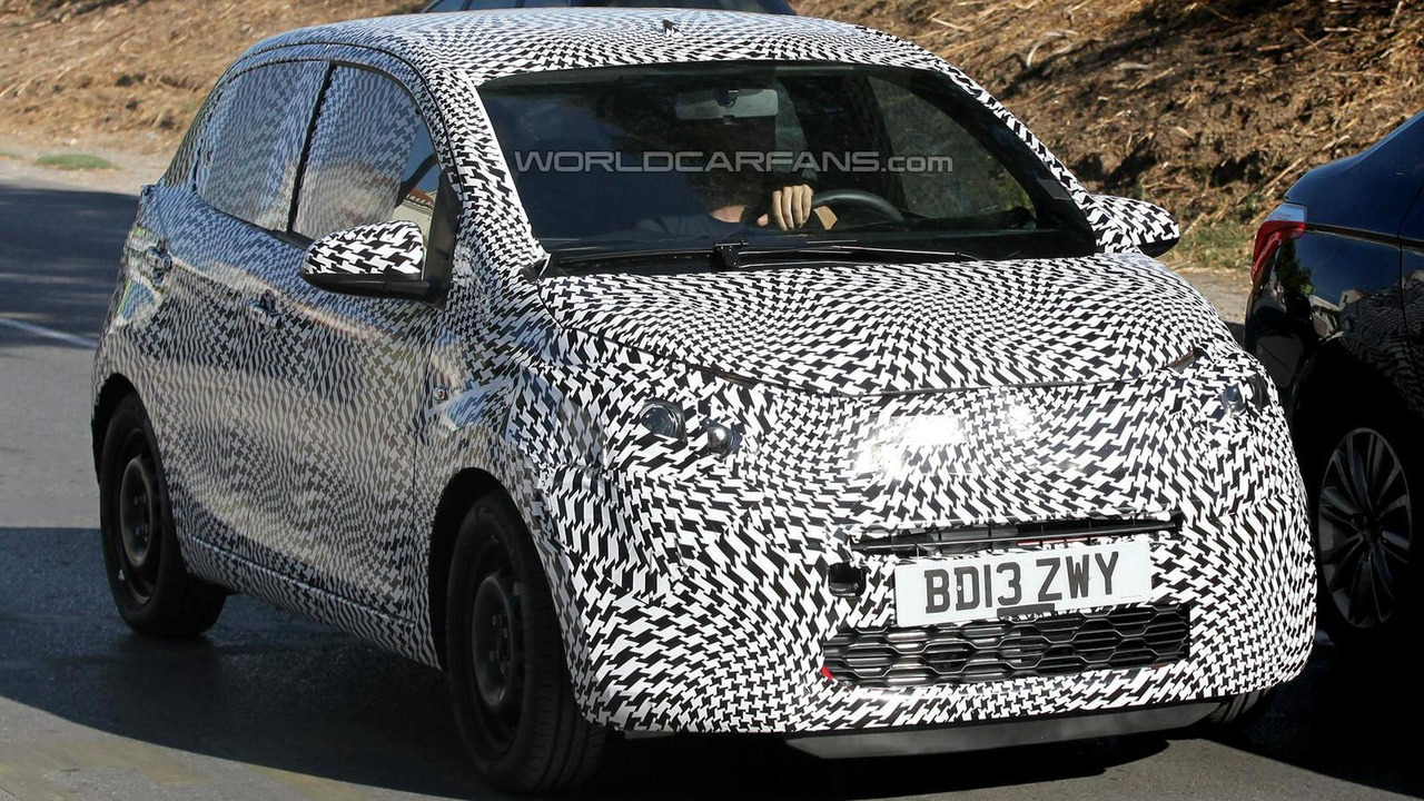 Next-gen Citroen C1 or Peugeot 107 spy photo 03.09.2013