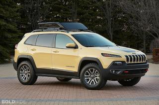 Jeep Cherokee Custom Trio Readies for Moab Safari