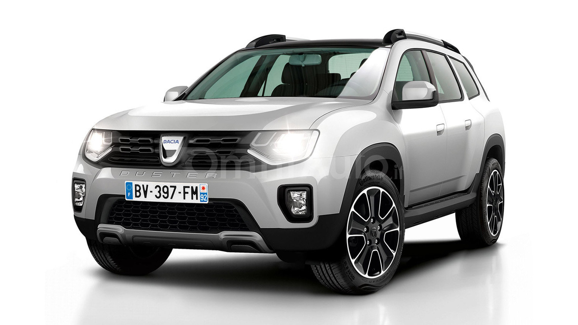 2017 Dacia Duster gets rendered
