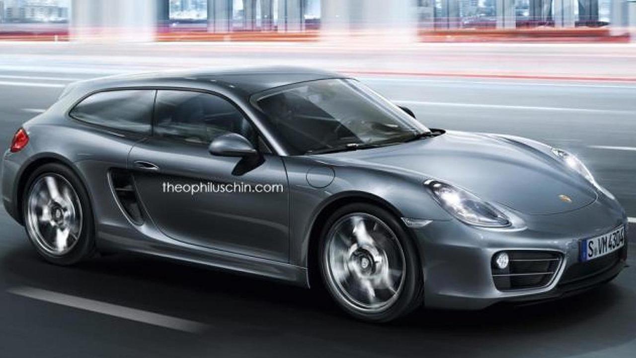 Porsche Cayvan render