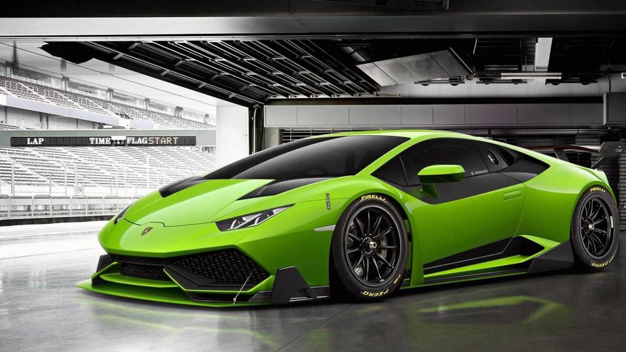 Lamborghini Huracan Super Trofeo rendering