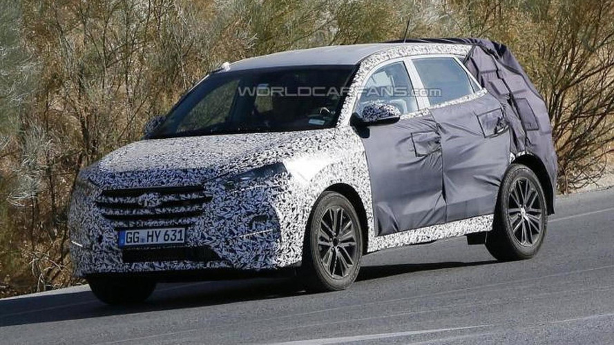 2016 Hyundai ix35 spied testing in southern Europe