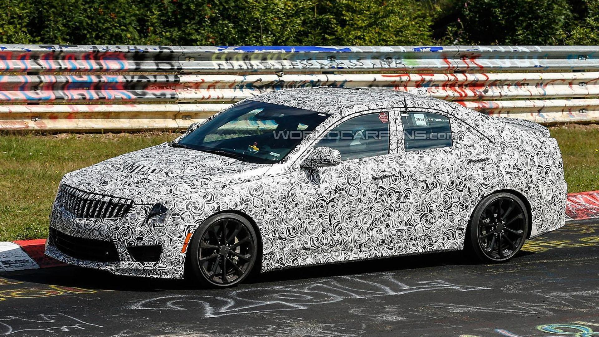 Cadillac confirms 2016 ATS-V Sedan will bow at Los Angeles Auto Show in November
