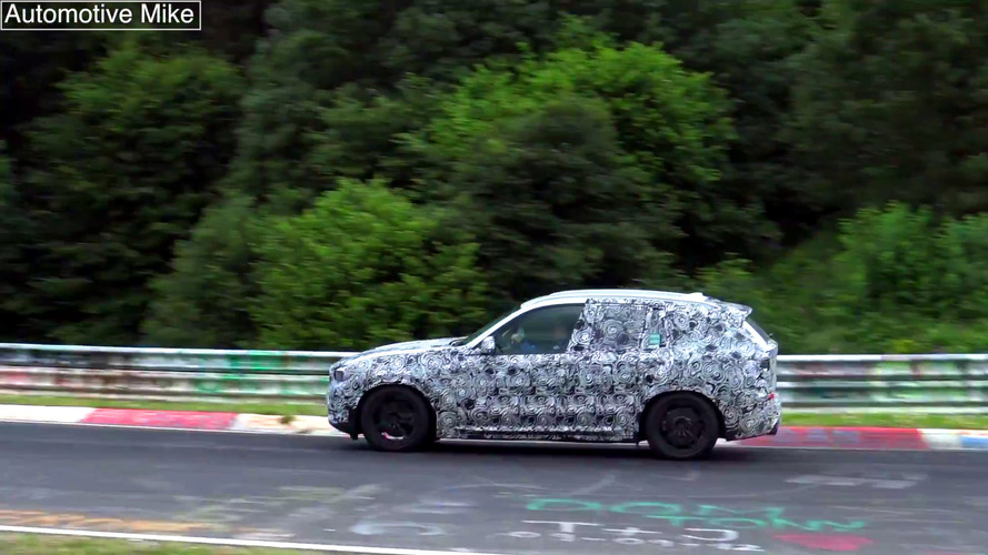 Watch how well the next X3 handles the Nurburgring