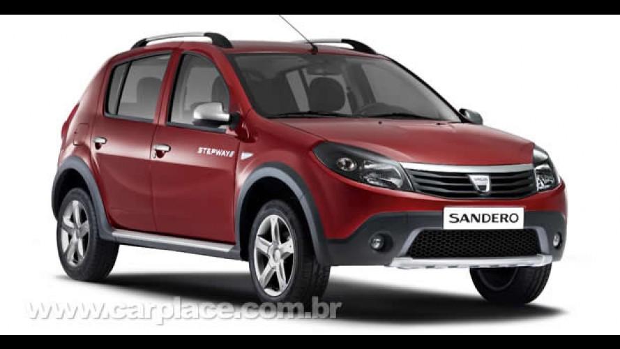 Sandero Stepway é apresentado no Salão do Automóvel de Barcelona pela marca Dacia