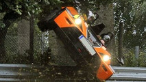 KTM X-Bow Crashed at Nurburgring
